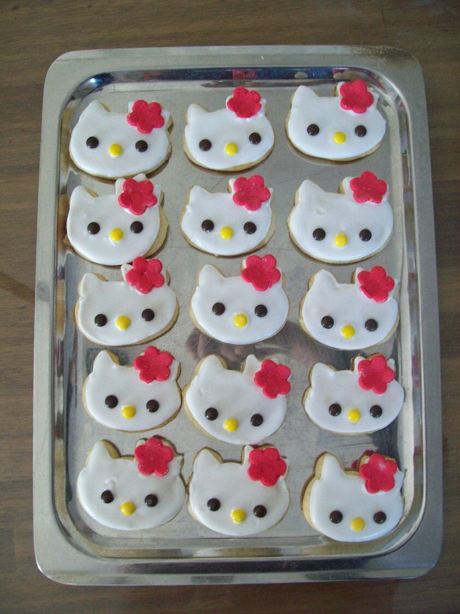 Kitty Cookies on Cake Central