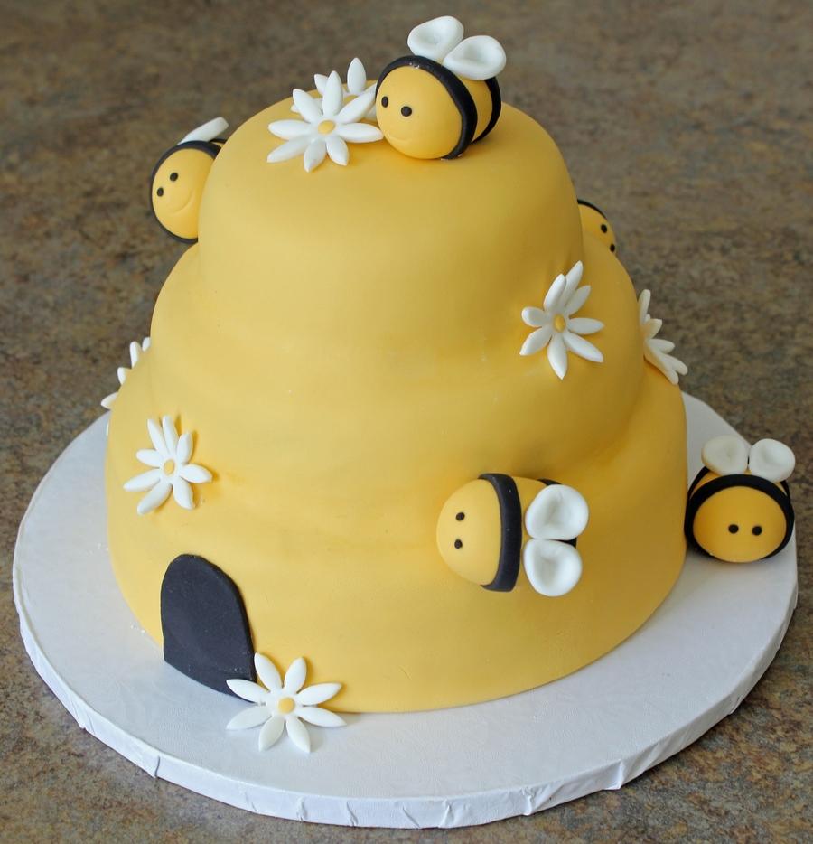 The Hive Birthday Cake