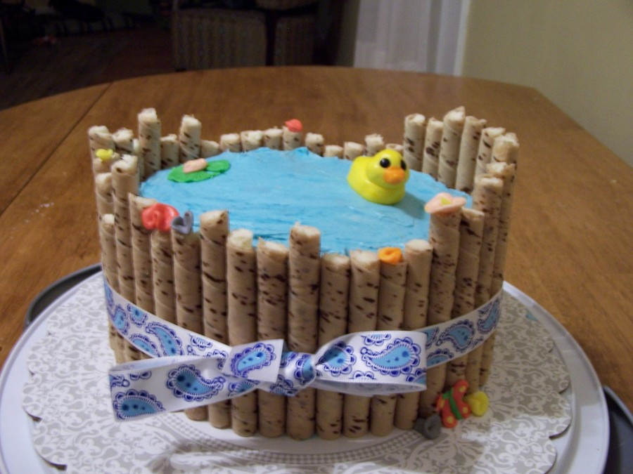 Ducky Cake  on Cake Central