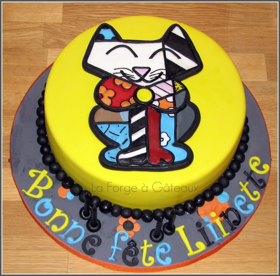 Sam The Cat on Cake Central