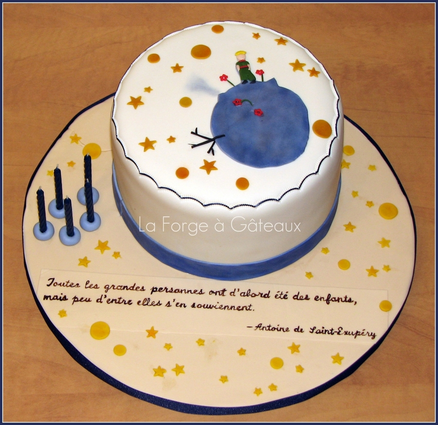 Le Petit Prince on Cake Central