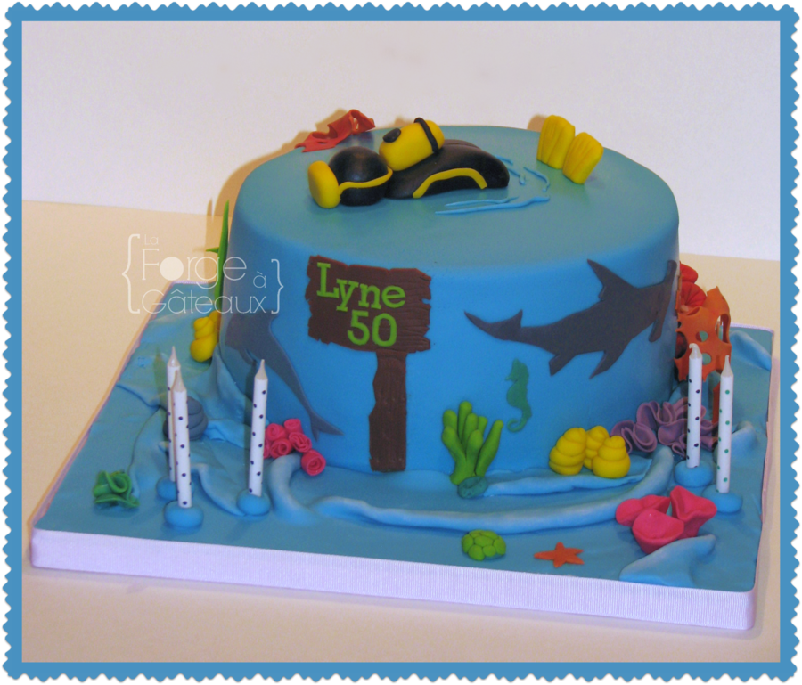 Scuba Diving on Cake Central