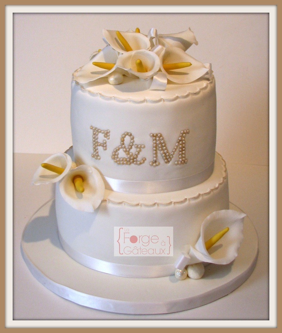 Engagement Cake on Cake Central
