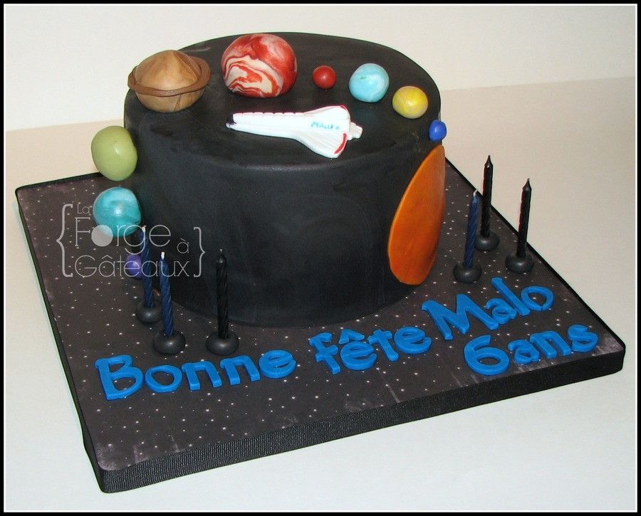 Solar System  on Cake Central