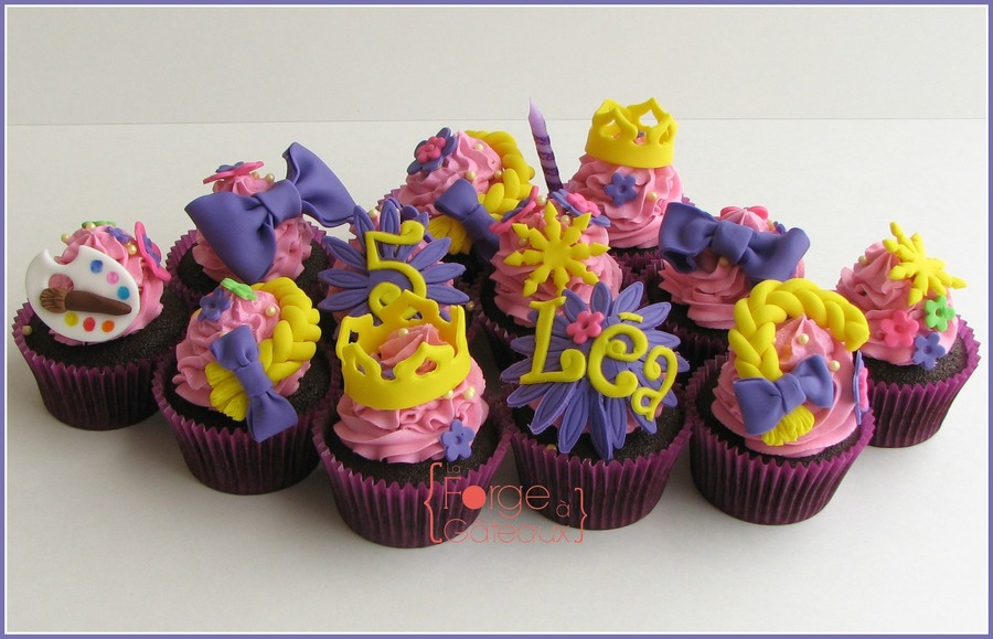 Rapunzel Cupcakes on Cake Central