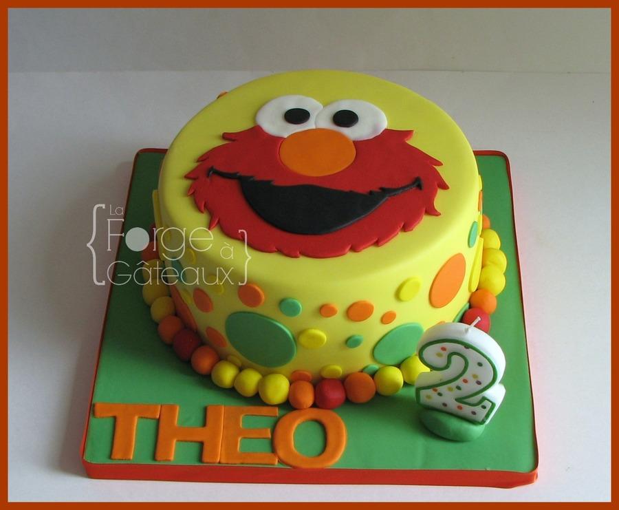 Elmo Cake Accessories : Elmo - CakeCentral.com