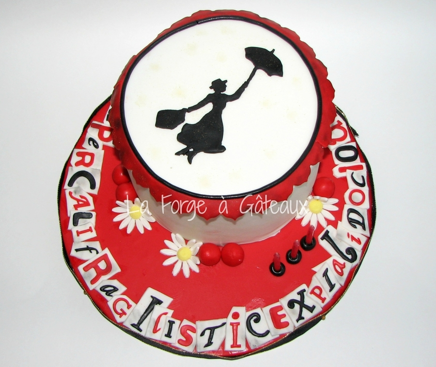 Mary Poppins on Cake Central