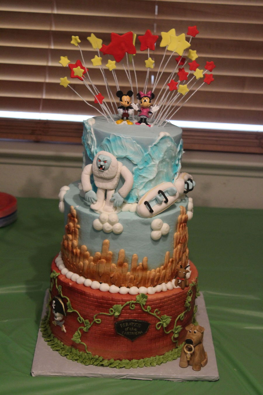 Icing On The Cake Railroad Birthday Cake