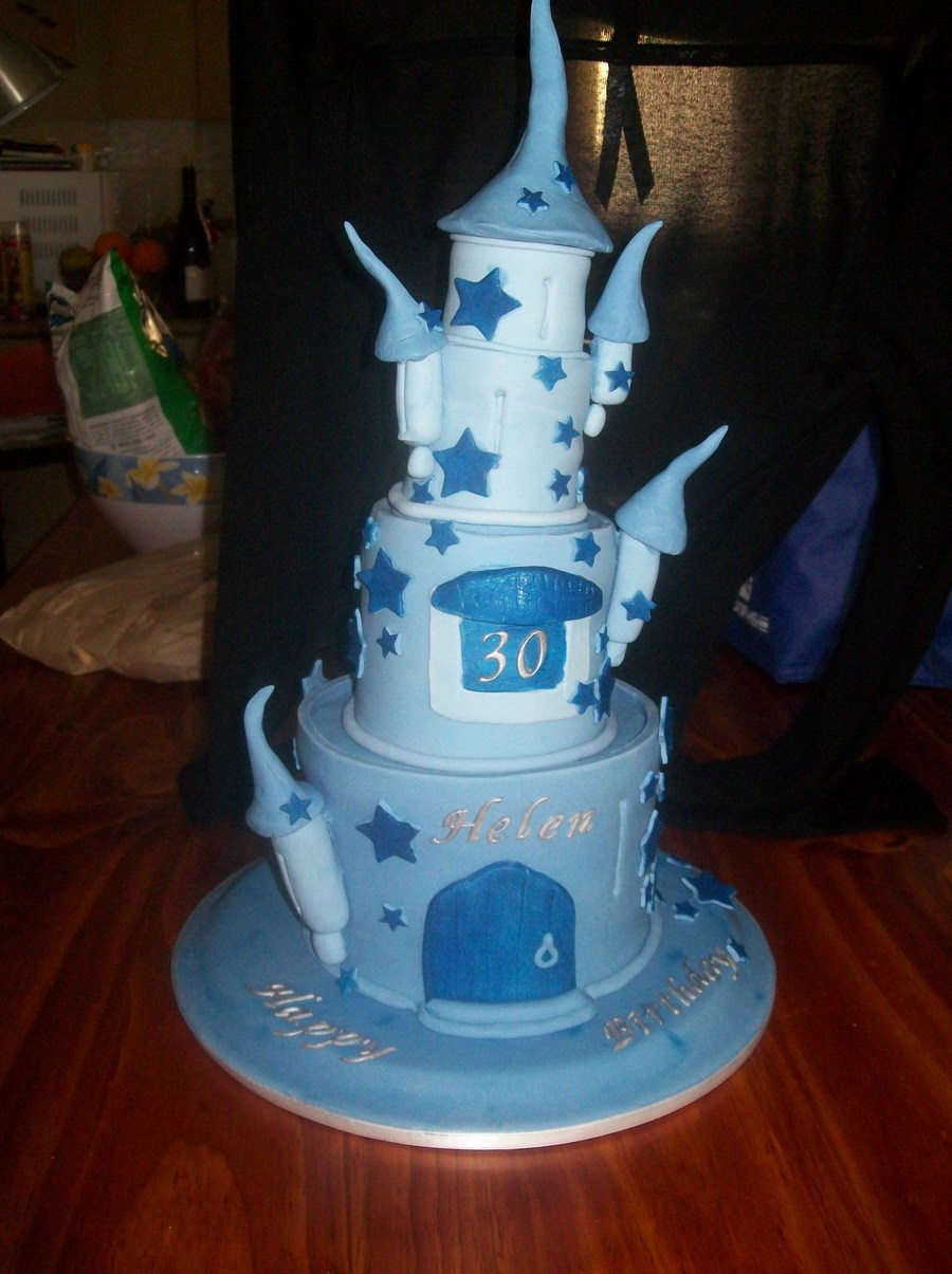 Magical Mystical Castle on Cake Central