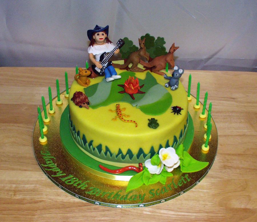 Scarletts Aussie Safari Cakecentral