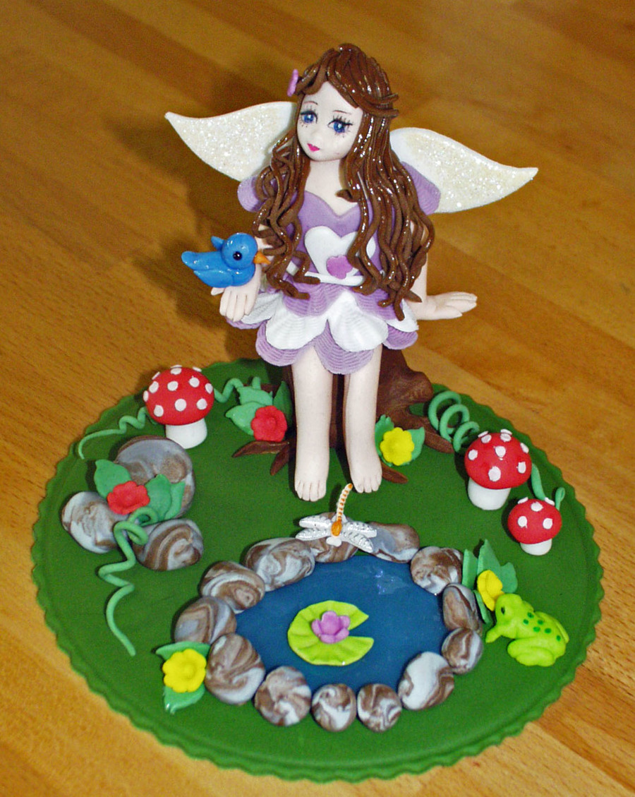 Felicity The Forest Fairy - Cake Topper on Cake Central