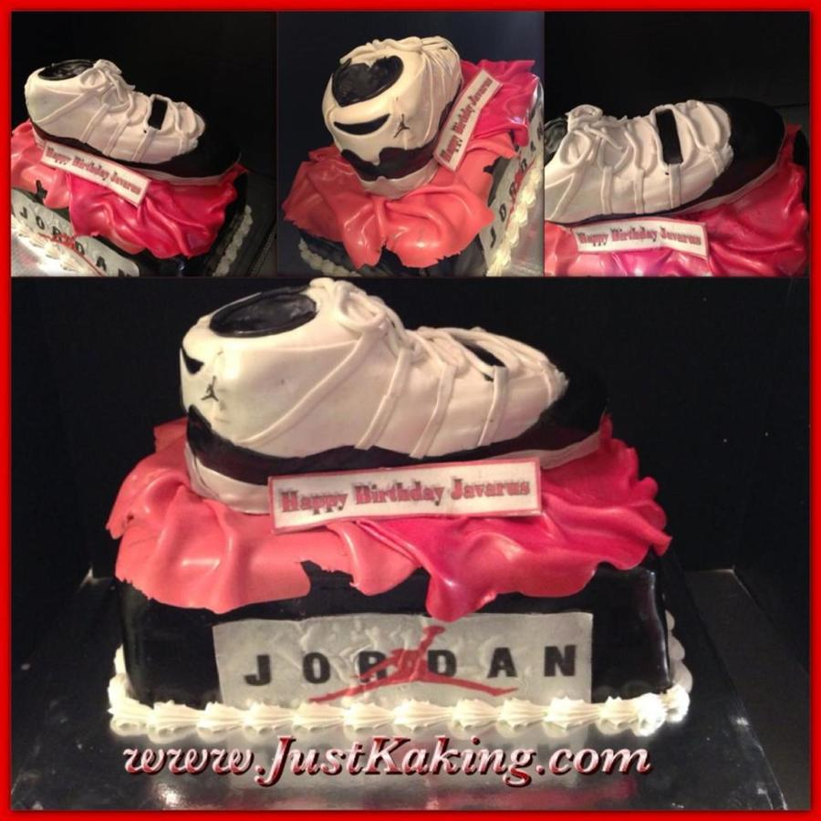 Jordan Shoe And Box on Cake Central