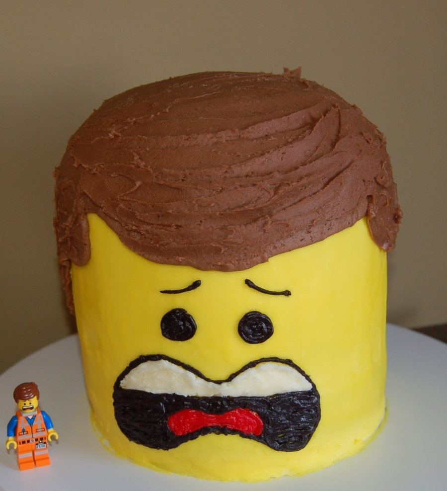 How To Make Ninjago Head Cake