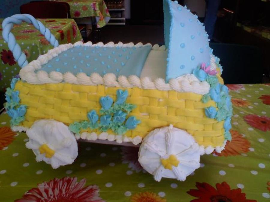 Baby Buggy Cake on Cake Central