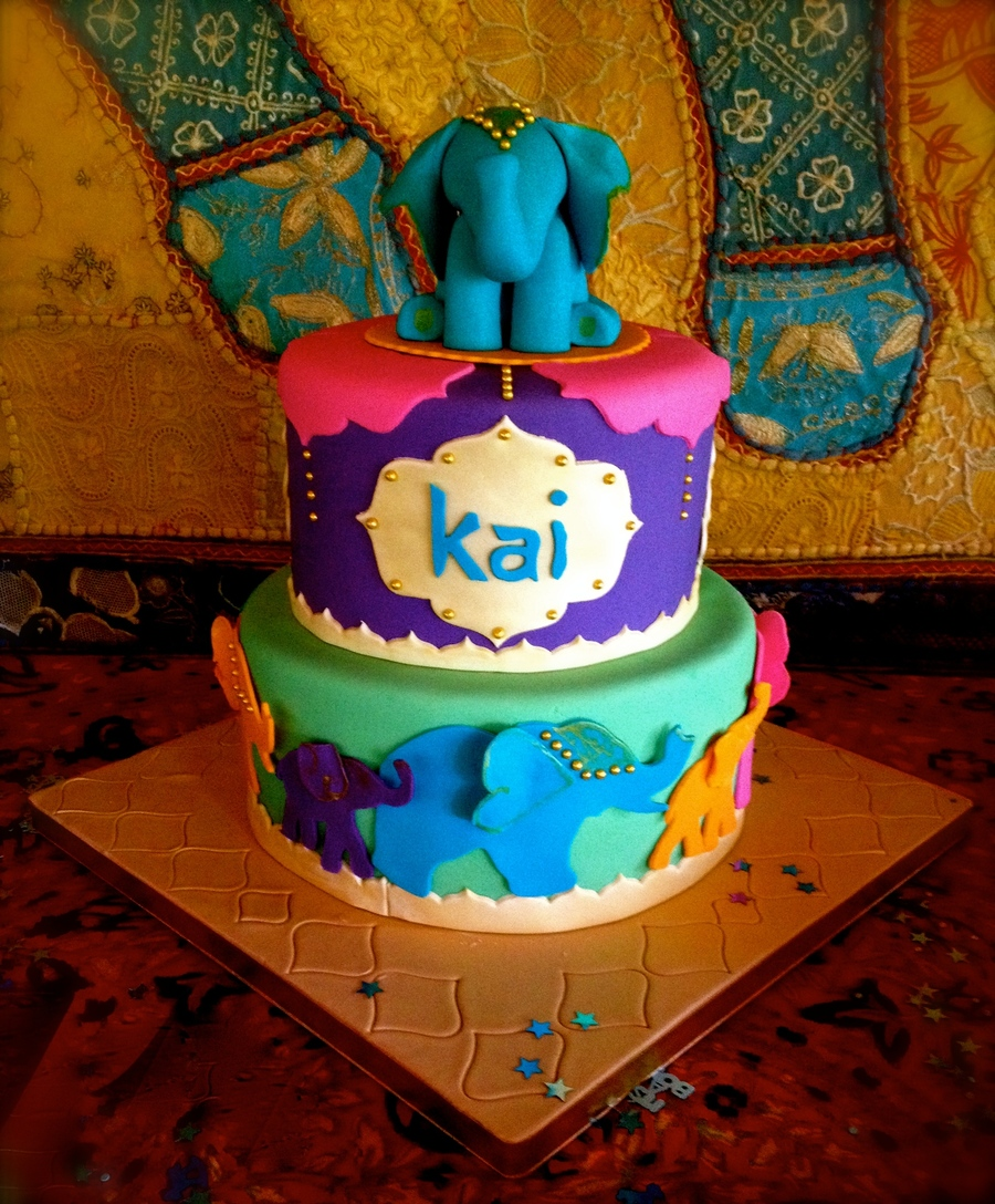 I Made This Cake For My Sister In Laws Moroccan Themed Baby Shower Very Fun  And