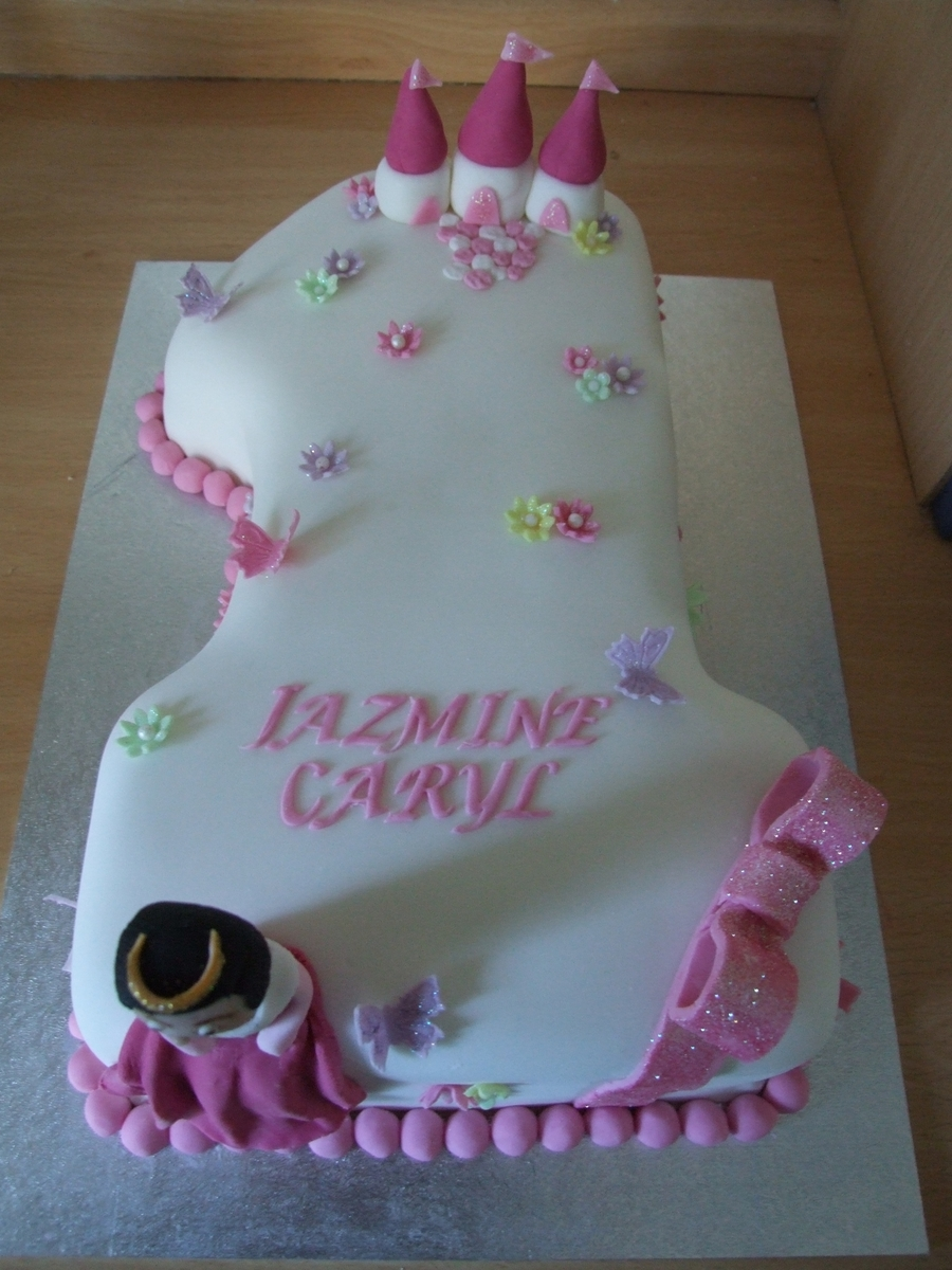 Astonishing 1St Birthday Princess Cake Cakecentral Com Funny Birthday Cards Online Alyptdamsfinfo