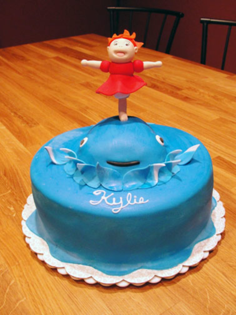 Ponyo Birthday Cake For Kylie Cakecentral