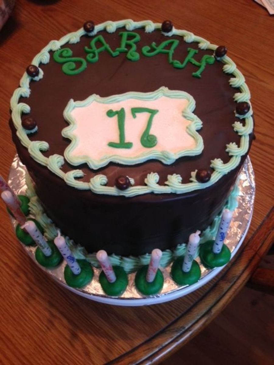 Pleasing 17Th Birthday Cake Cakecentral Com Personalised Birthday Cards Veneteletsinfo