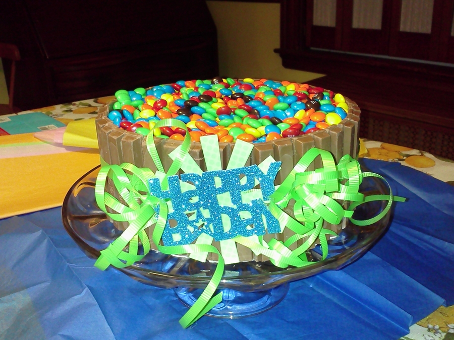 Candy Birthday Cake on Cake Central