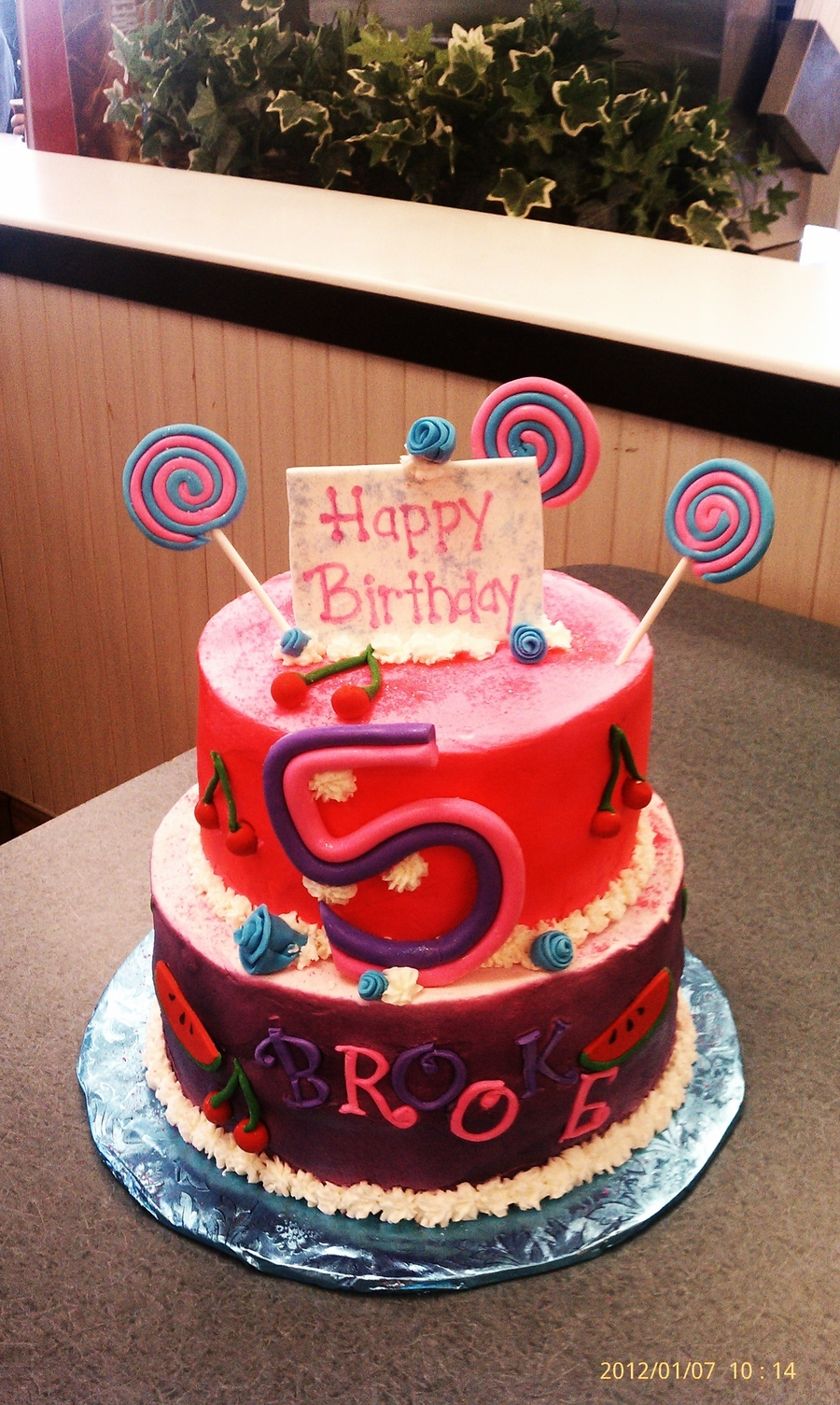 Phenomenal Katy Perry Birthday Cake Cakecentral Com Personalised Birthday Cards Veneteletsinfo