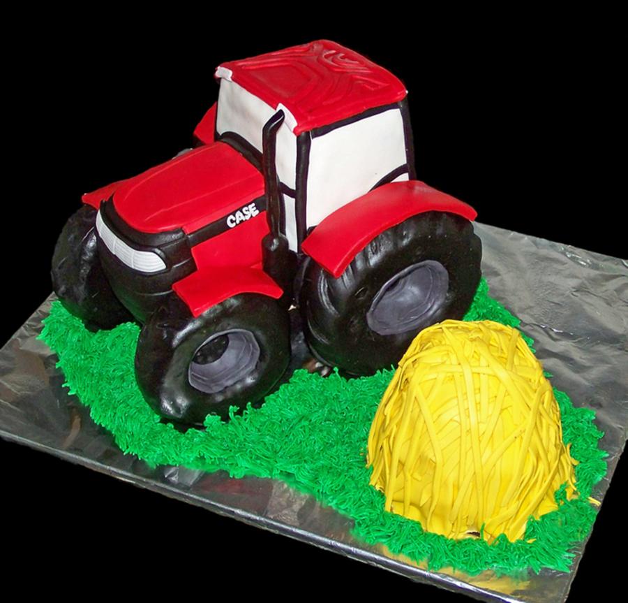 Case Tractor Birthday Cake