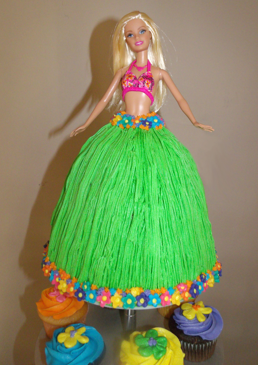 Barbie Skirt Cake Recipe
