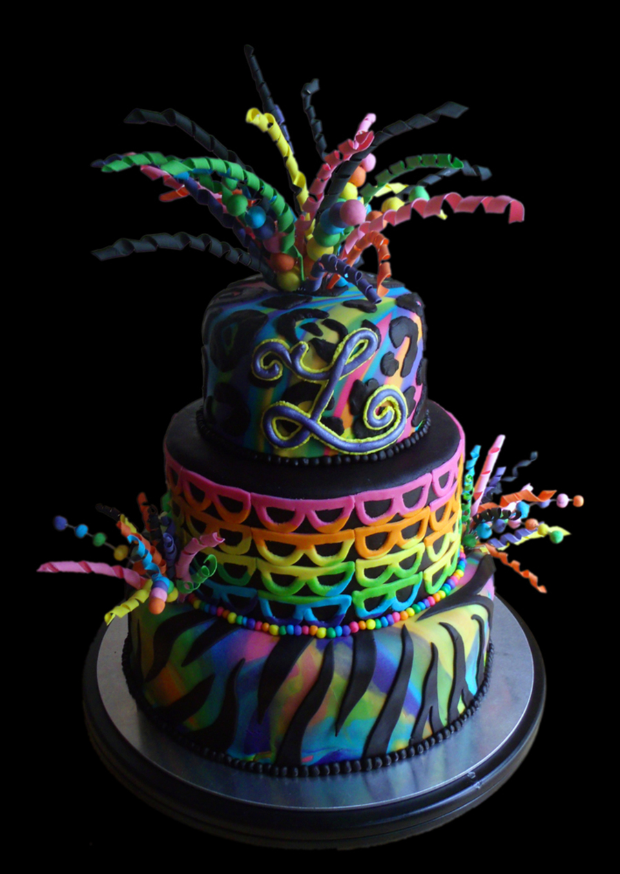 How To Get Dark Rainbow Colors For Cake