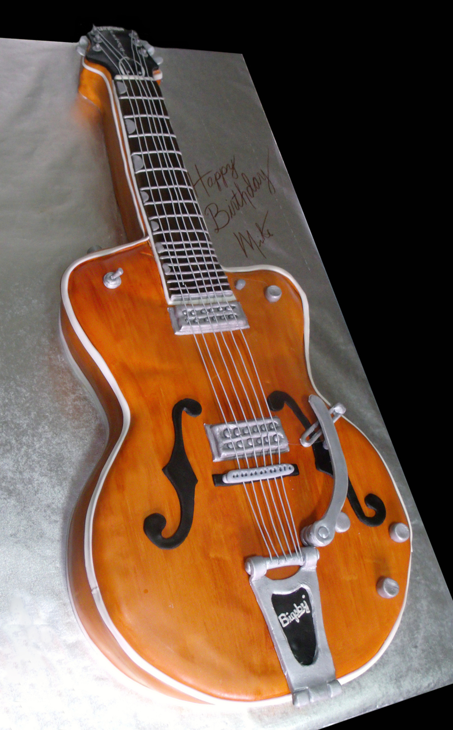 Gretsch Guitar Cake on Cake Central