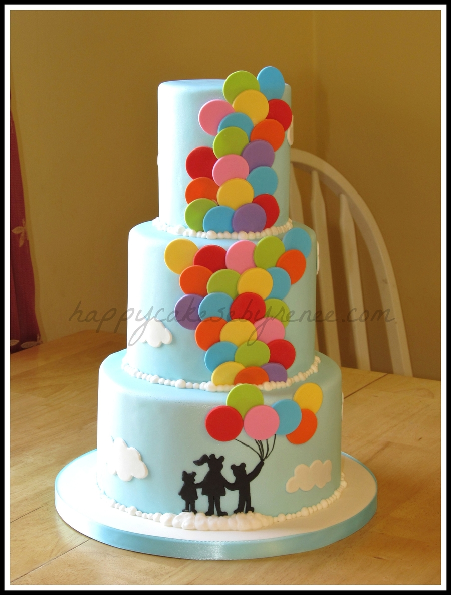 Balloon Cake on Cake Central
