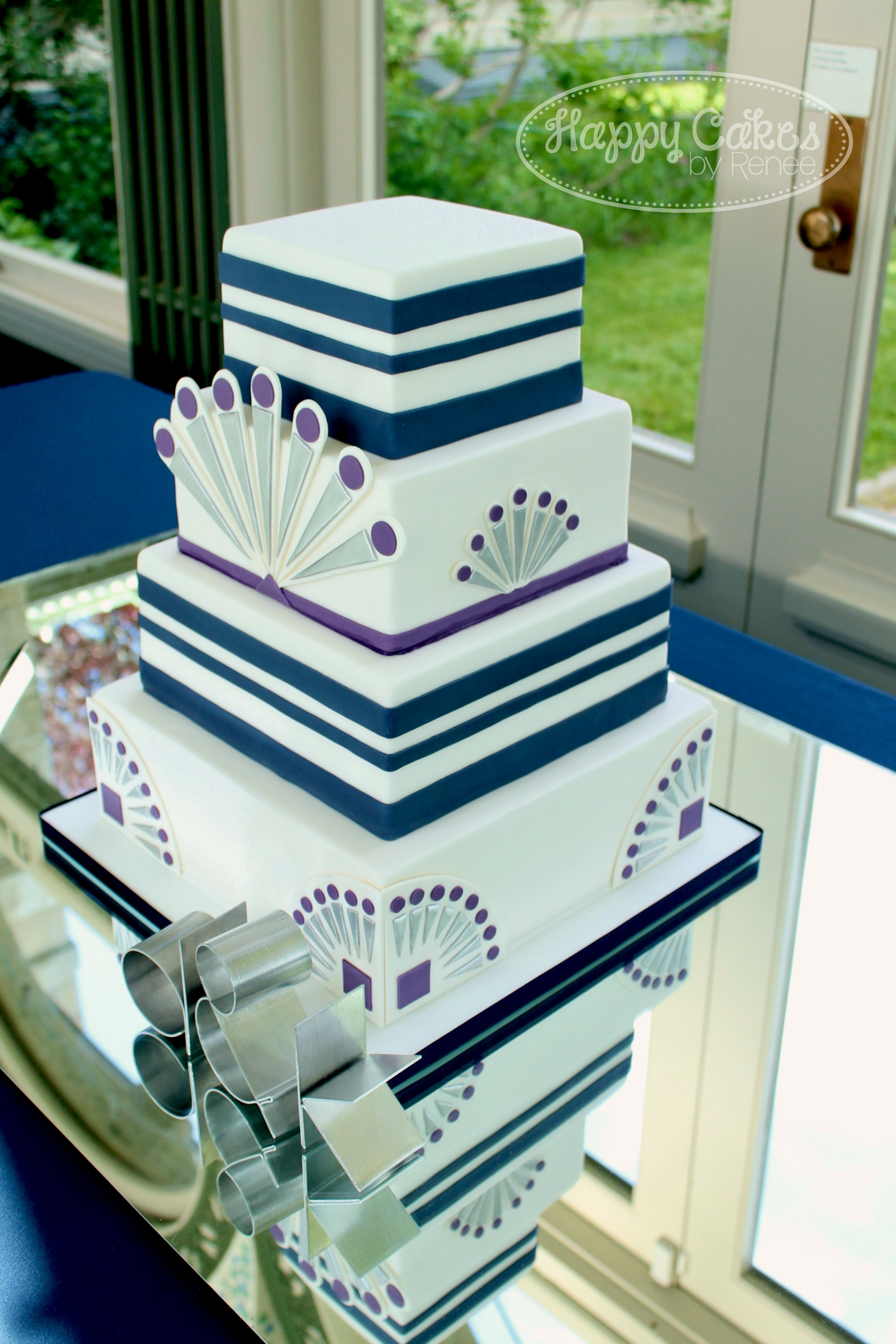 Great Gatsby Inspired Wedding Cake CakeCentral