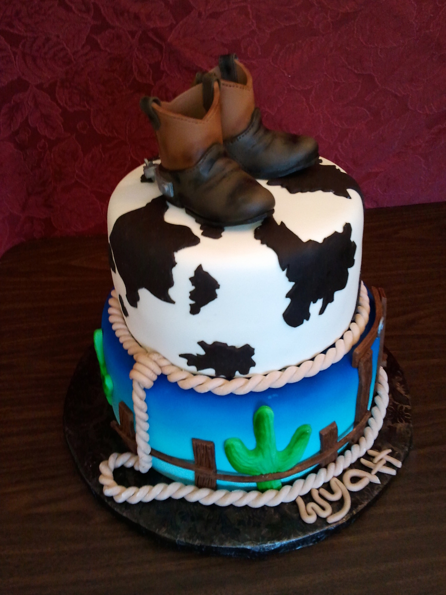 Cowboy Baby Shower Cake Cakecentral