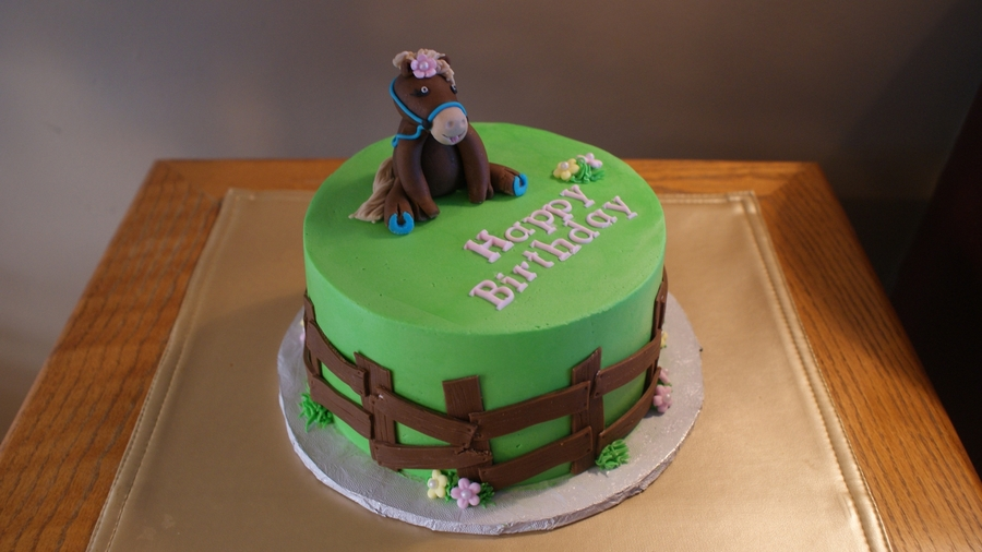 Birthday Cake For Horse Lover Cakecentral Com