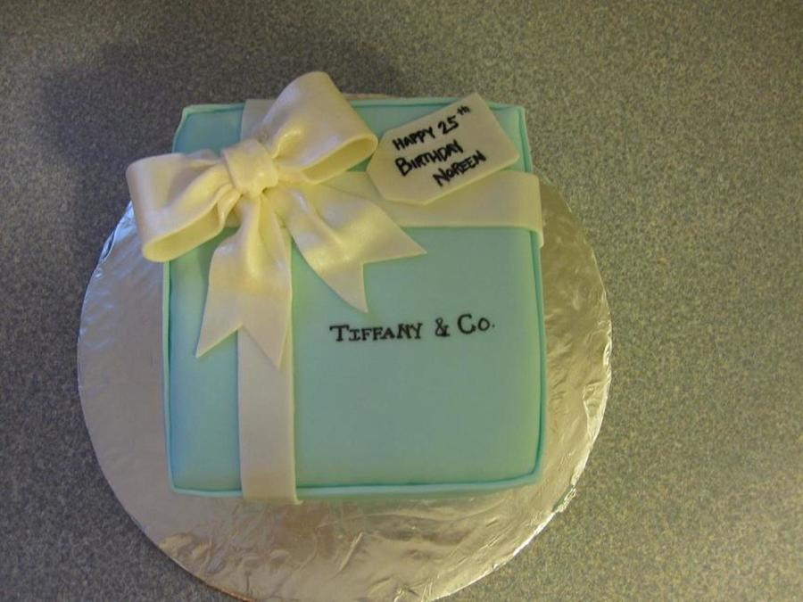 Tiffany And Co Birthday Cake Cakecentral