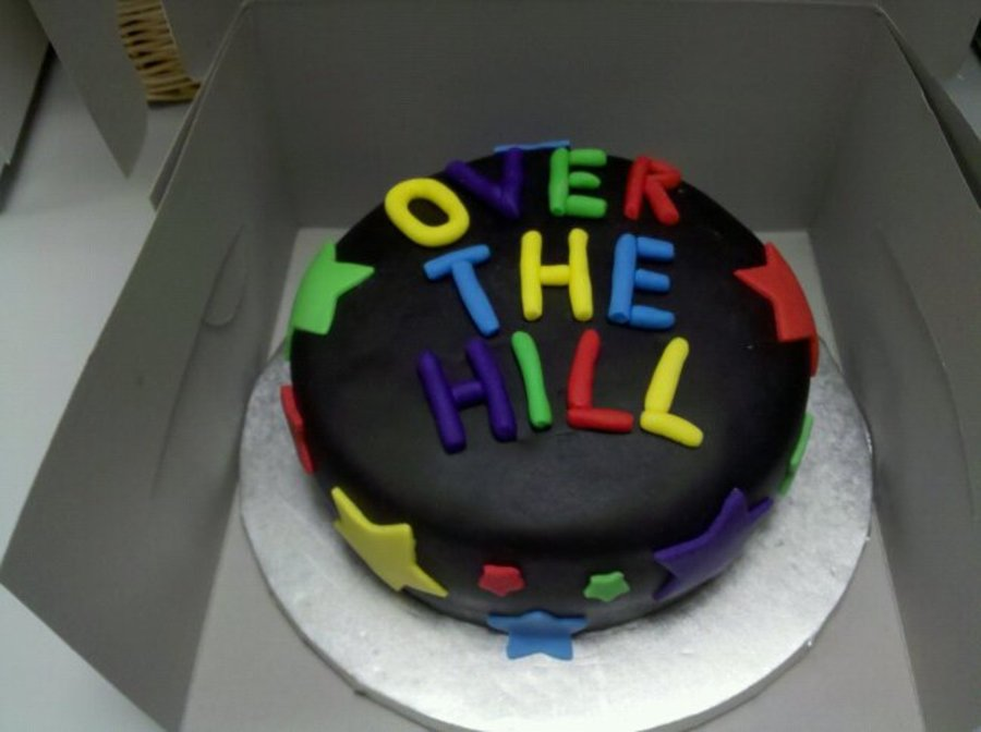 40Th Birthday - Over The Hill Cake on Cake Central