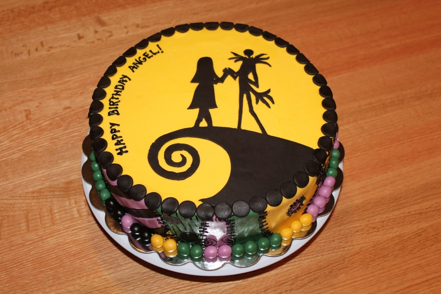 Pictures Of Nightmare Before Christmas Cakes