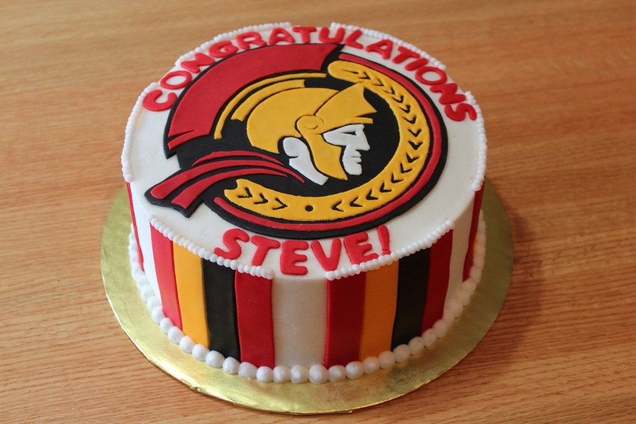 Ottawa Senators Cake on Cake Central