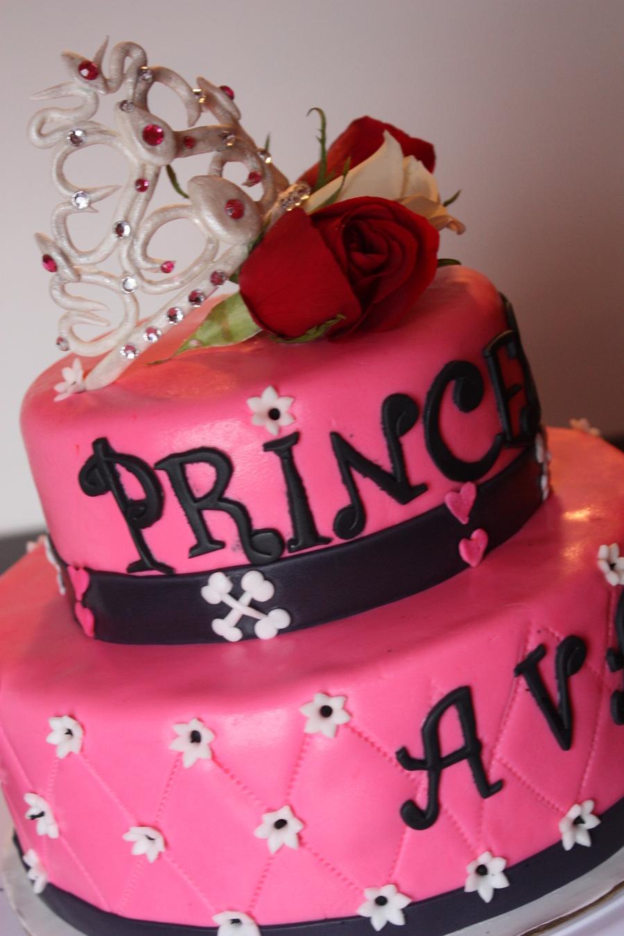 Punk Rock Princess Cake - CakeCentral.com