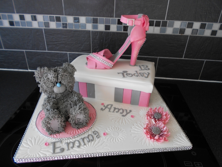 Shoe Teddy on Cake Central
