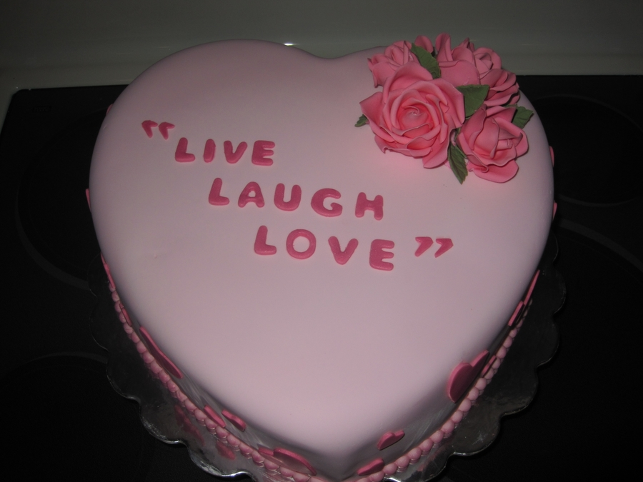Valentine's Day Cake on Cake Central