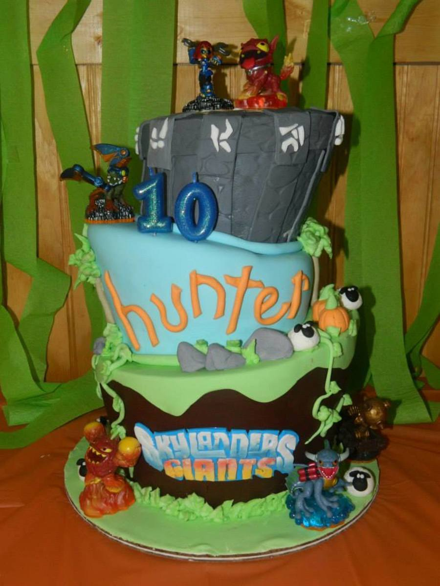 Excellent Skylanders 10Th Birthday Cake Cakecentral Com Funny Birthday Cards Online Elaedamsfinfo