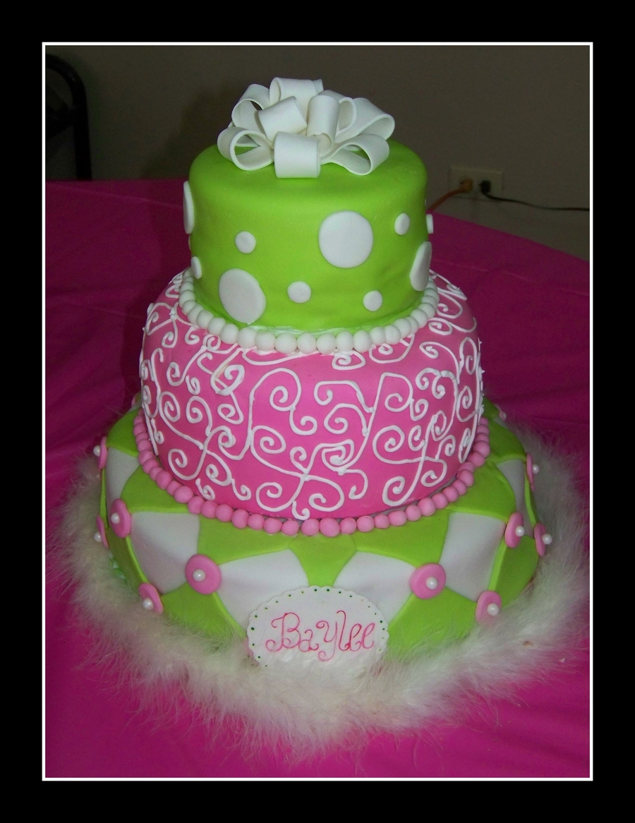 First Baby Shower Cake on Cake Central
