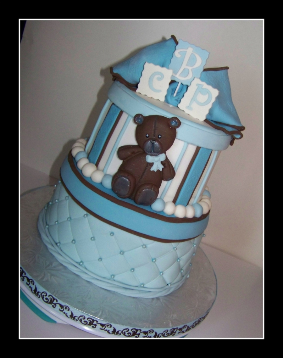 Baby Boy Bear on Cake Central