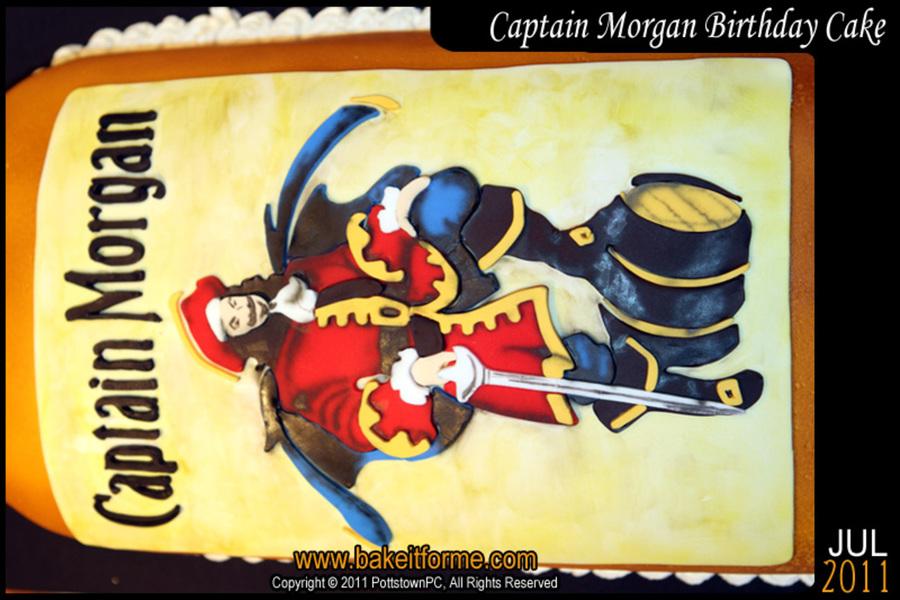 Captain Morgan Fondant Cake Cakecentral Com