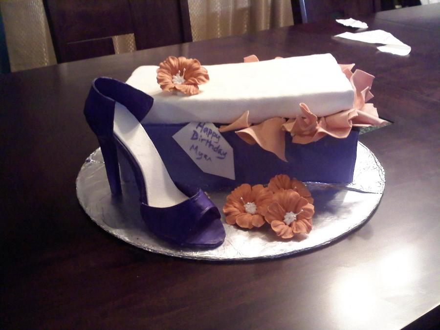 Shoe Box Cake on Cake Central