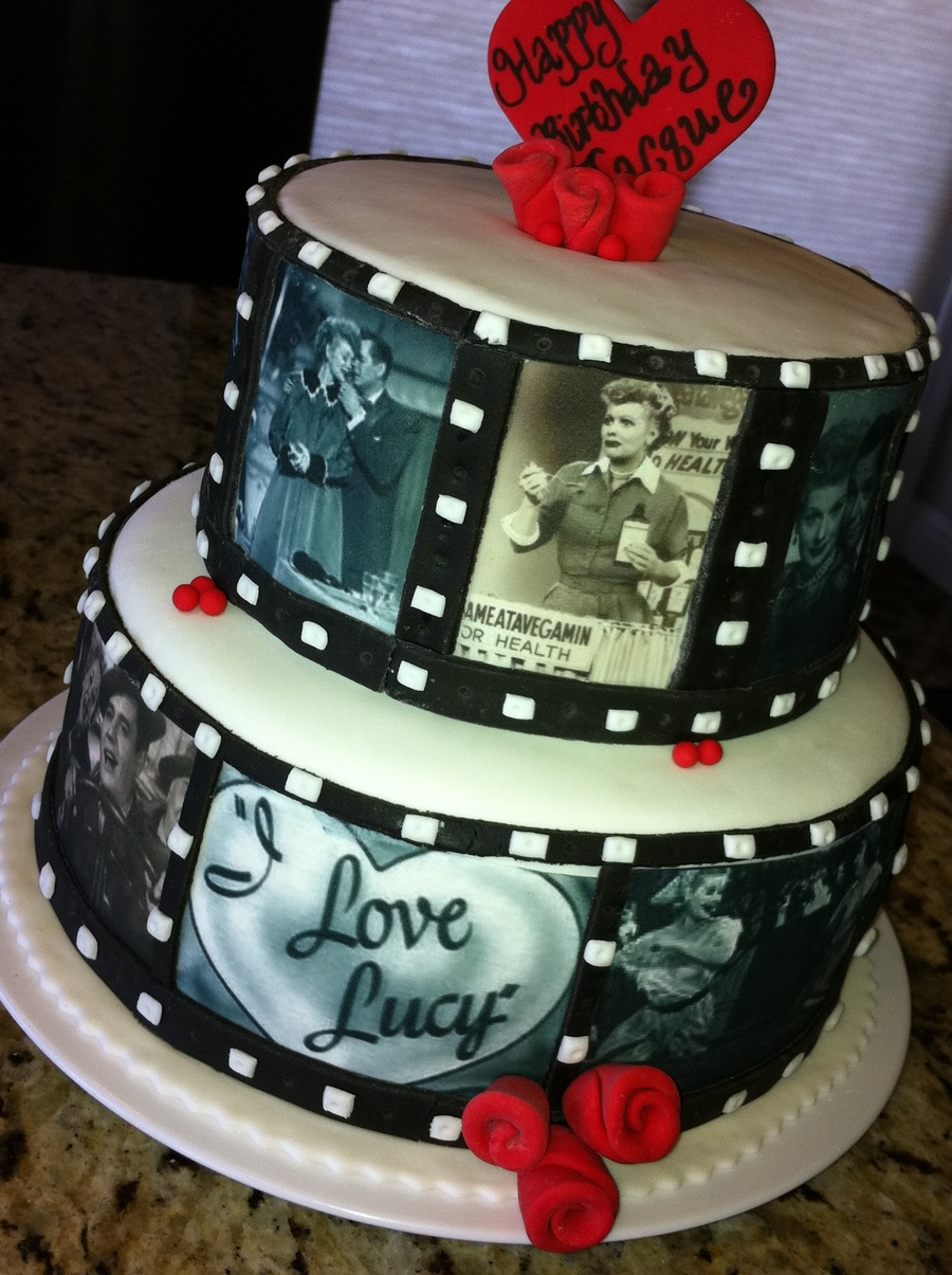 I Love Lucy 60th Bday Cake On Central