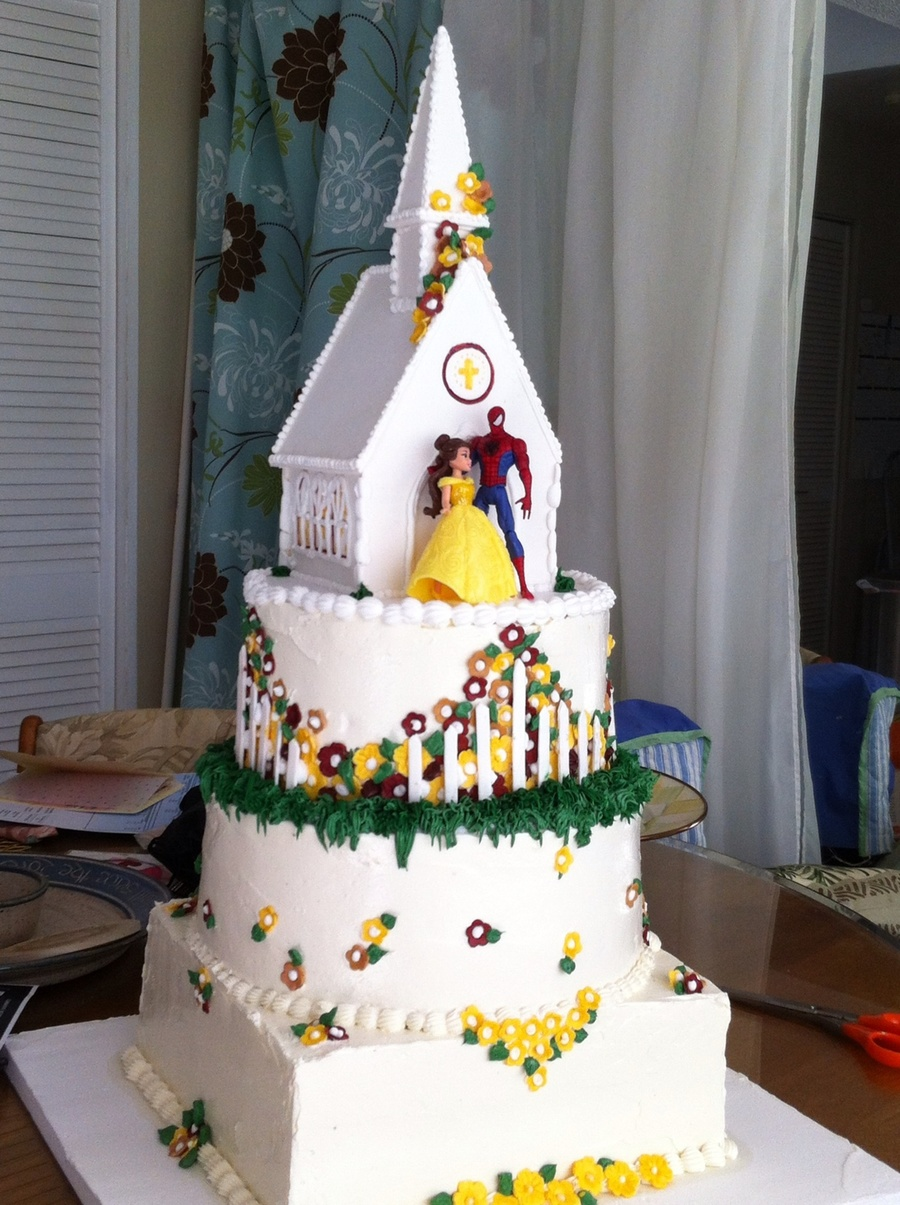 Country Church Wedding on Cake Central