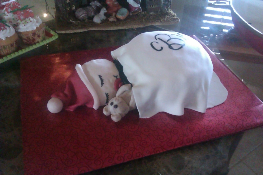 Christmas Baby on Cake Central