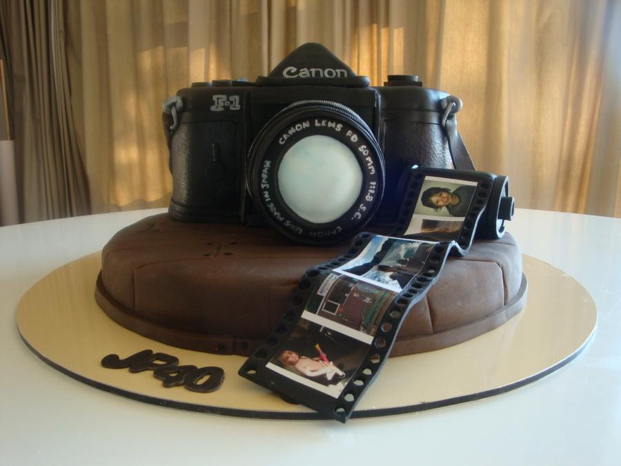 Birthday Cake Photo Camera : Camera Cake - CakeCentral.com