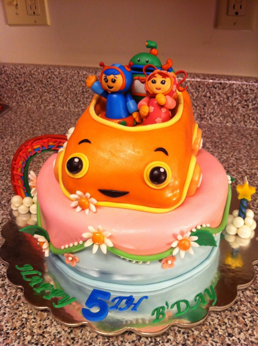 Umizoomi Birthday Cake Ideas
