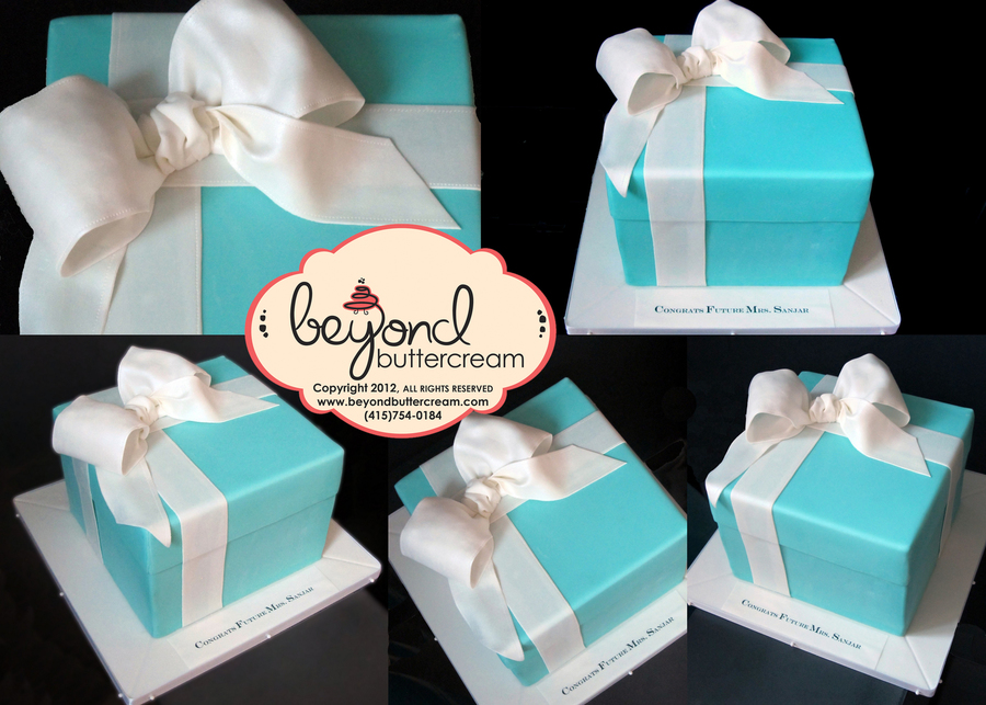 Tiffany Box Cake on Cake Central